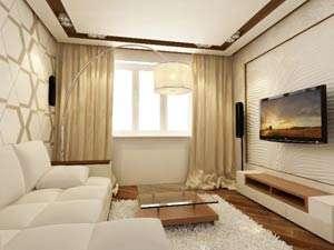 Отделка квартиры с одной комнатой