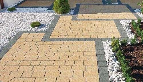 Сделать укладку тротуарной плитки