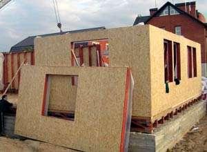 Вариант недорогого строительства дома