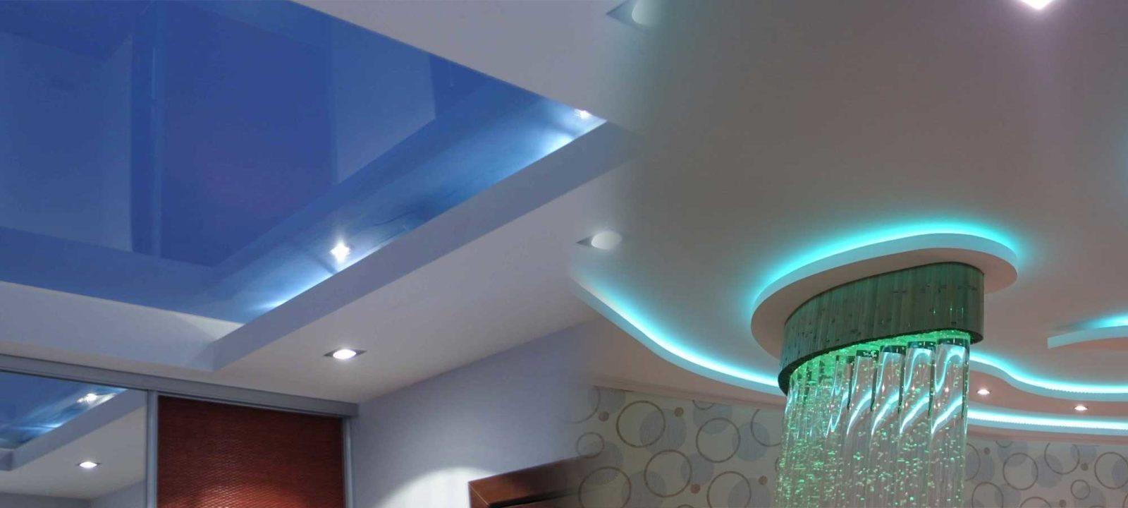 Комплексный ремонт квартир в Краснодаре: потолки по дизайн проекту